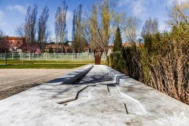 ASPACE - Jardin - Escultura y fuente