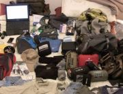 James' Travel Packing