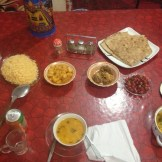 My massive dinner at Marco Polo Guest House