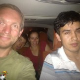 With our Chef / Taxi Driver / Party Organiser - Top Lad (Hotan, China)