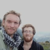 Nicky and I at Magic View Point (Dharamsala, India)