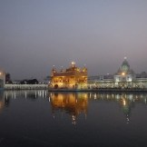 The Golden Temple in the evening (Amritsar,India)