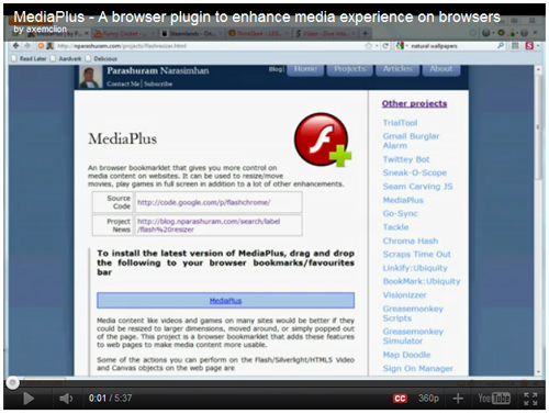 MediaPlus for YouTube - click image to watch the video on YouTube