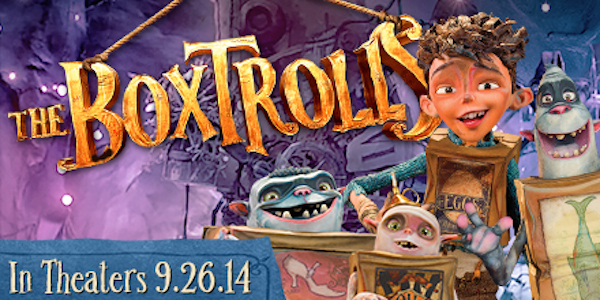 The Boxtrolls in theaters 9/26/2014 kids movie