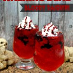 The Walking Dead Bloody Daiquiri drink for the season 7 premiere October 23rd