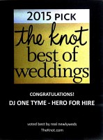 DJ One TyMe The Knot Best Of Weddings 2015