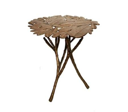 Stephanie Odegard-Champa-Leaf-side-table
