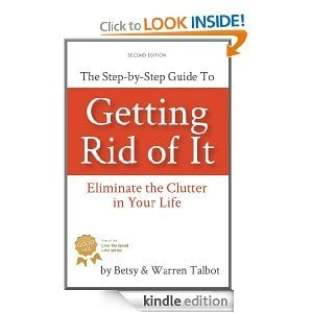 Declutter book - Getting Rid of It
