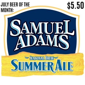 SummerAle July BOM