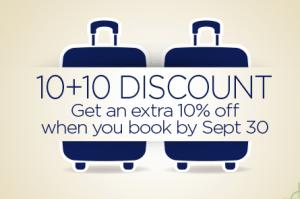 20 Percent Discount on Amtrak