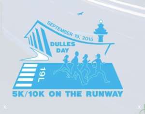 5/10K Run at Dulles International Airport