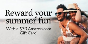 $30 Amazon Gift Card for 2 Stays at Country Inn & Suites