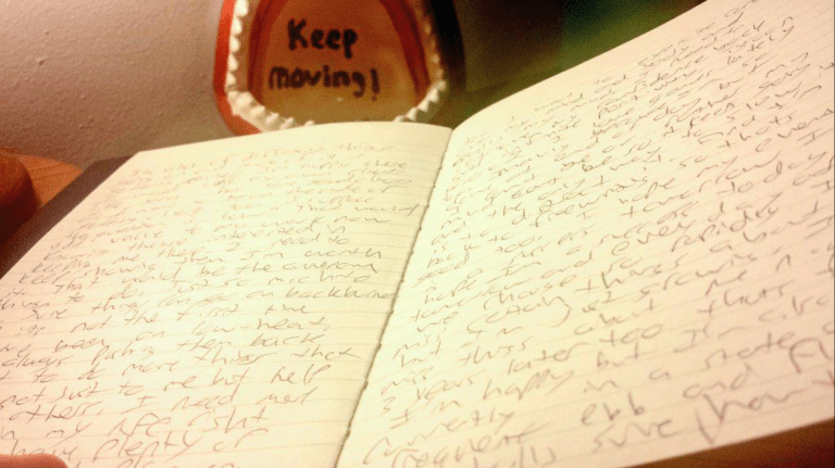 Keep Moving, Keep Writing