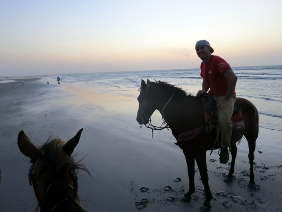 horseback riding at Jericoacoara