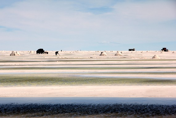Uyuni salt flats