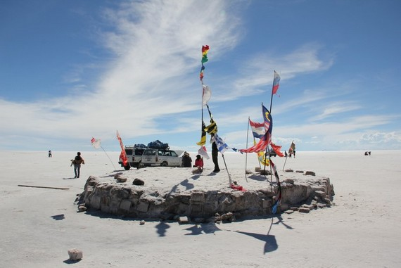 Uyuni salt flats hotel