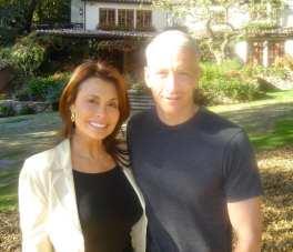 Irene & Anderson Cooper