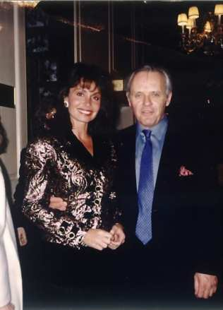 Irene & Anthony Hopkins