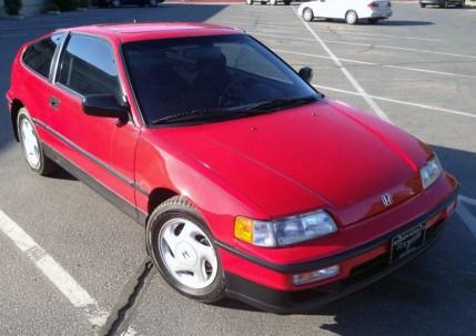 1991 Honda CRX Si 01