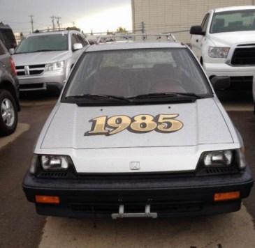 1985 Honda Civic 1