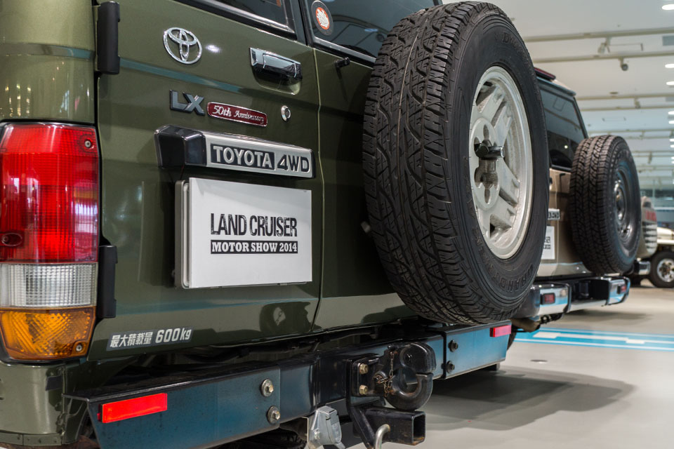 Land Cruiser Motor Show in Tokyo celebrates Japanese re-release of 70-Series - Toyota Land Cruiser 70 Series 51