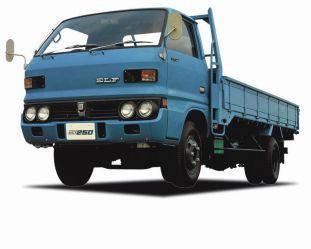 Isuzu Elf 250 dump truck