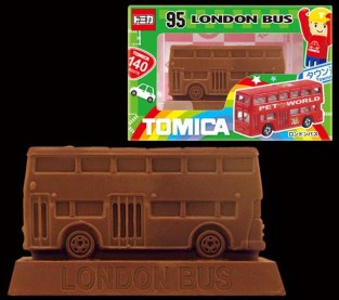 Tomica chocolate 2017 London Bus