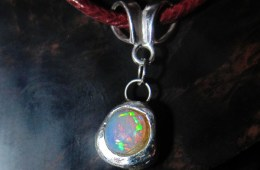 Welo Silver Pendant – Sold