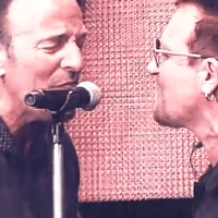 Watch Bruce Springsteen and Bono perform on stage at Croke Park gig