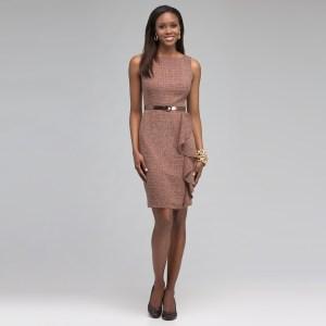 Jones NY Ruffle Tweed Sheath Dress: Retail ($79.00) JNY.com