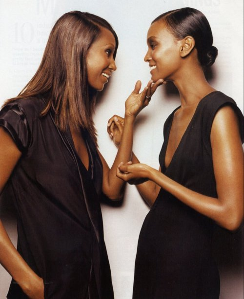 Africa's Top Model Iman and Liya