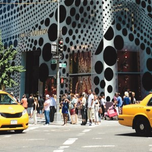 Louis Vuitton Unveils Yayoi Kusama Windows
