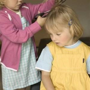 Girls Cut Each Others Hair