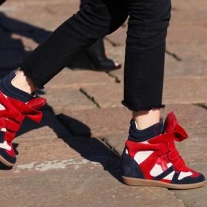"""""""Isabel Marant wedge sneakers"""""""