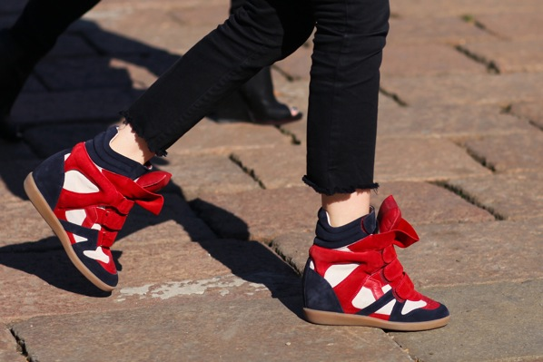 """Isabel Marant wedge sneakers"""