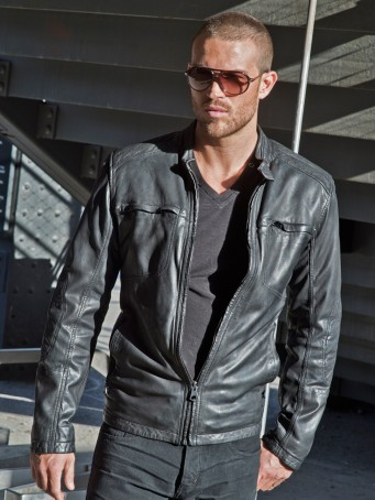 Fifty Shades of Grey - Andrew Marc Warp Leather Jacket