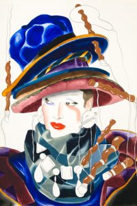 Fashion Illustration by Antonio Lopez *Photo Credit: Elle