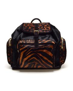 Pierre Hardy Calf-Hair Leopard Printed Backpack, www.brownsfashion.com, $2,032.13