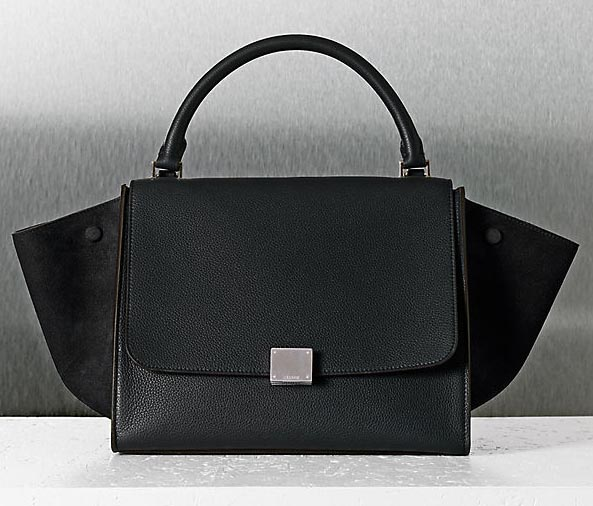 Celine Luggage in Black