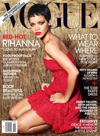 Rihanna November Vogue