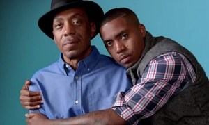 Nas Jones & Olu Dara Jones in Gap 2012 Holiday Ad (Photo Credit: www.Gap.com)