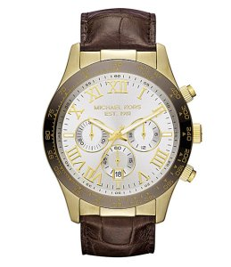 This Michael Kors Layton Leather Watch is perfect for business or casual attire and priced perfectly for under $250. *Photo Credit: Dillards