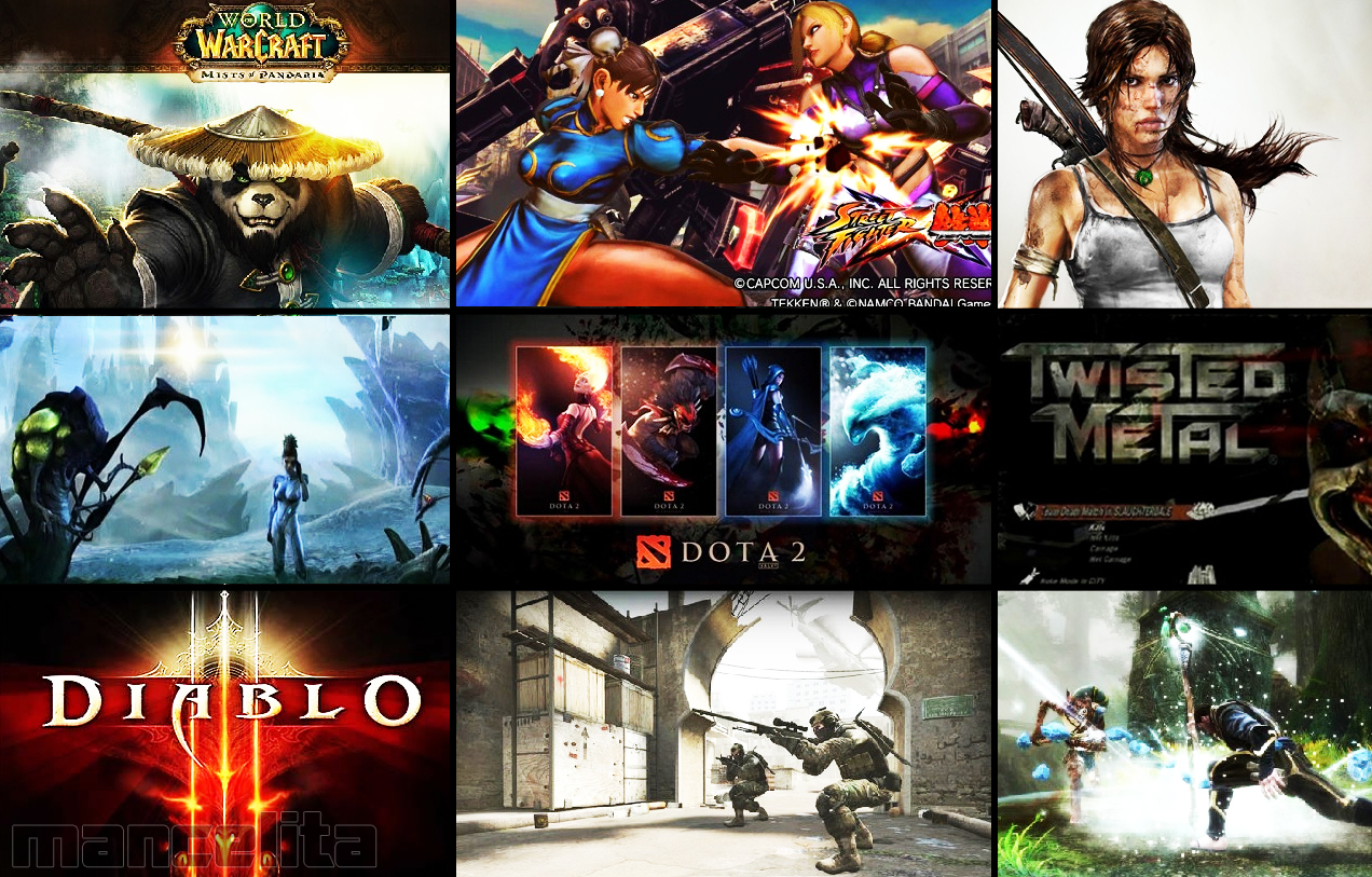 top 10 games pc 2012