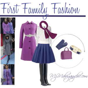 First Family Fashion Set by Mz Mahogany Chic via Polyvore