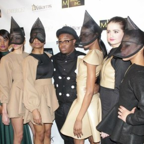 Designer Bishmie Cromartie and his models