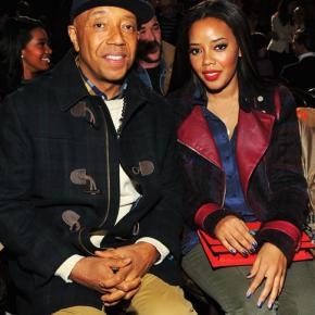 Russel and Angela Simmons at Tommy Hilfiger F13