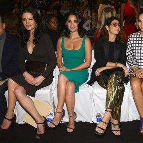 Michael Douglas, Catherine Zeta Jones, Olivia Mun, Marissa Tomei, and Camilla Belle