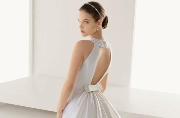 Statement Back Wedding Gown
