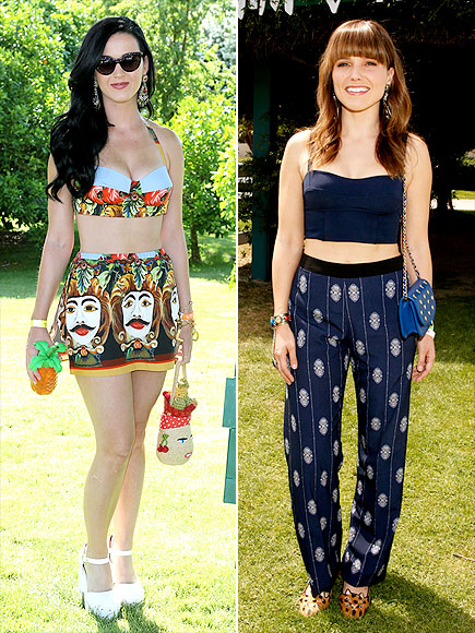 Katy Perry Sophia Bush Coachella