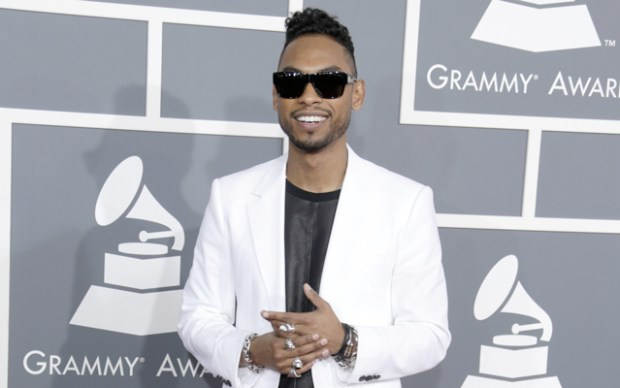 Miguel at the Grammys